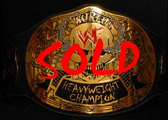 Smoking Skull World Title Belt