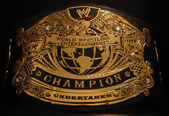 Undisputed WWE Title Belt