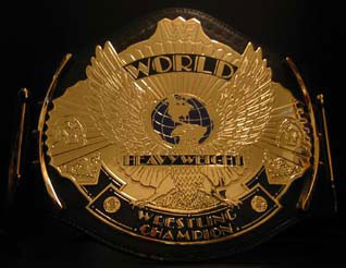 WWF Heavyweight Championship Belt
