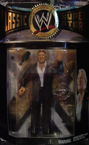 Classic Superstars 6 - Bobby 'The Brain' Heenan - SIGNED