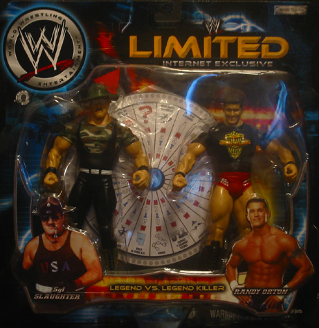 Limited Internet Exclusive - Sgt. Slaughter & Randy Orton