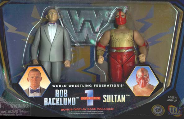 Managers Series 1 - Bob Backlund & The Sultan