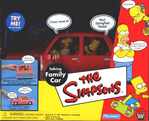 The Simpsons Family Car