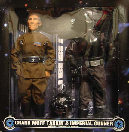 Grand Moff Tarkin and Imperial Gunner